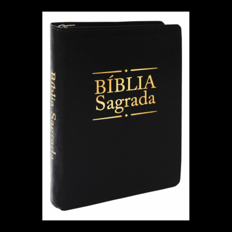 Biblia Sagrada Dourada Preta