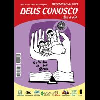 DEUS CONOSCO DIA A DIA – Letras Grandes – dezembro 2021