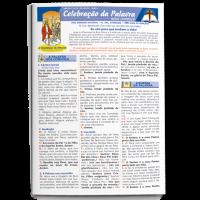 Folheto DEUS CONOSCO - CELEBRAÇÃO DA PALAVRA