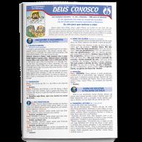 Folheto DEUS CONOSCO - MISSA COM AS CRIANÇAS