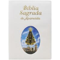 Bíblia Sagrada de Aparecida - Grande Ilustrada - Branca
