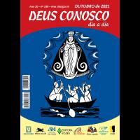 DEUS CONOSCO DIA A DIA – Letras Grandes – outubro 2021