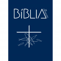 Capa da Bíblia de Aparecida - Capa Cristal