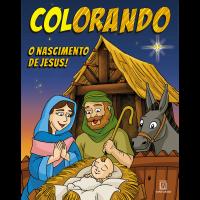 Colorando - O Nascimento de Jesus