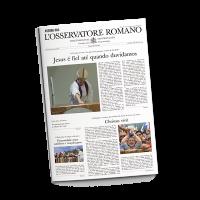 Jornal L'osservatore Romano – Assinatura anual