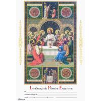 Lembrança primeira eucaristia- vertical