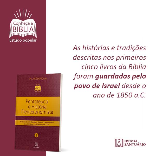 """Livro """"Pentateuco e História Deuteronomista"""""""