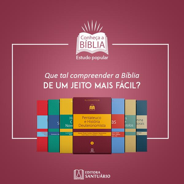 """Coleção """"Conheça a Bíblia. Estudo popular"""""""