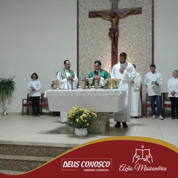 Início da Formação em Presidente Prudente com Santa Missa