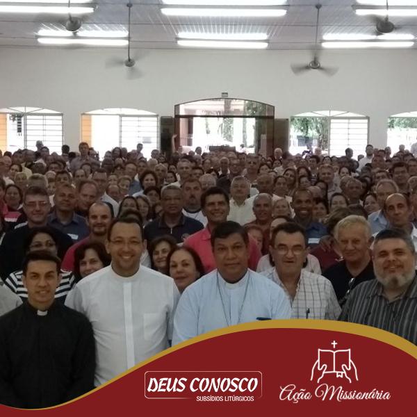 Participantes do Encontro de Formação na Paróquia Nossa Senhora Mãe de Deus