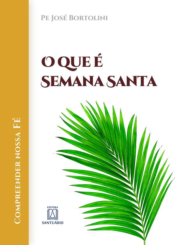 Livro sobre a Semana Santa